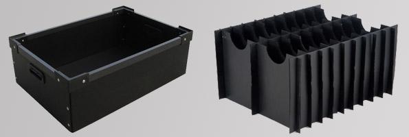 anti static hollow board & box