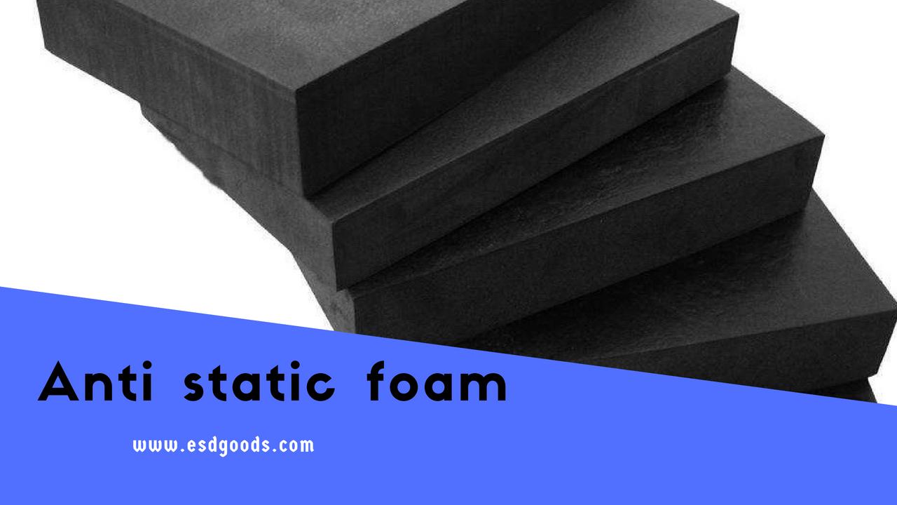 ESD Foam Black Roll & Sheets | Anti Static Foam Block -