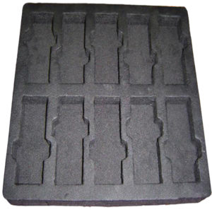 Anti static PE foam tray