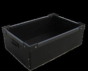 Anti static corrugated box