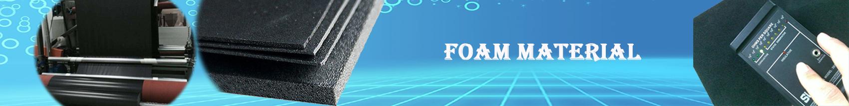 Foam material Conductive PE foam
