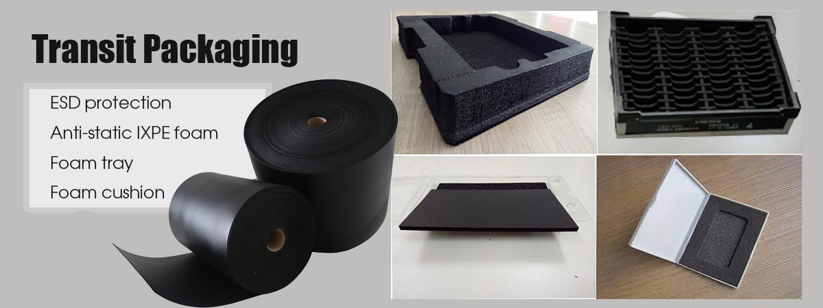Anti static PE foam