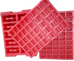 Pink anti static epe foam