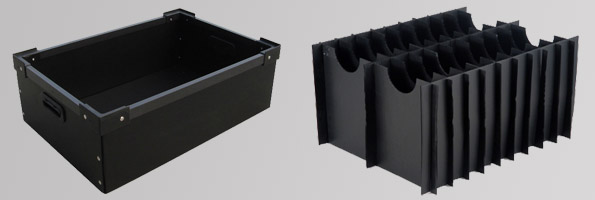 anti static hollow board & box