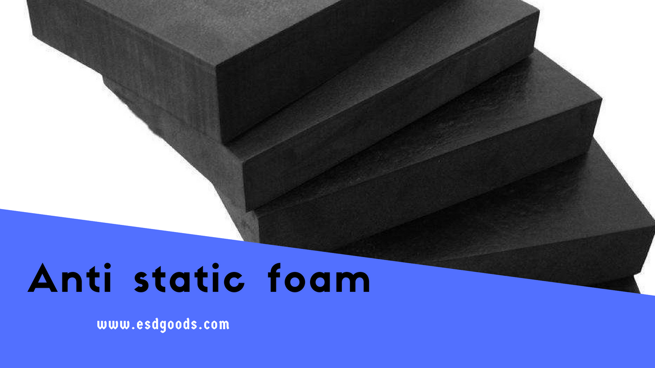 Anti static foam