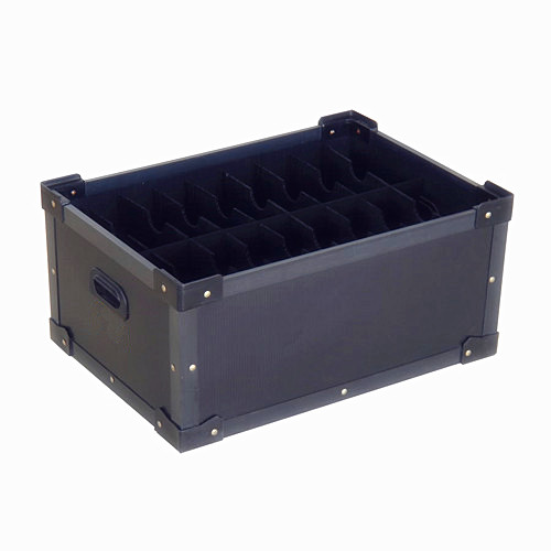 Anti static hollow board box
