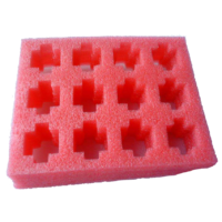 Anti Static Pink Foam Tray