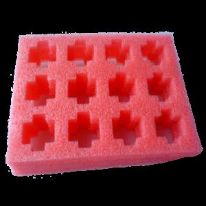 Anti Static Pink Foam Tray