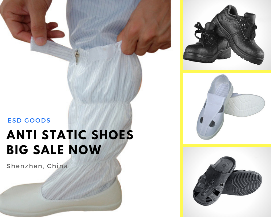 Let talk about the Electro Static Dissipative Shoe types and