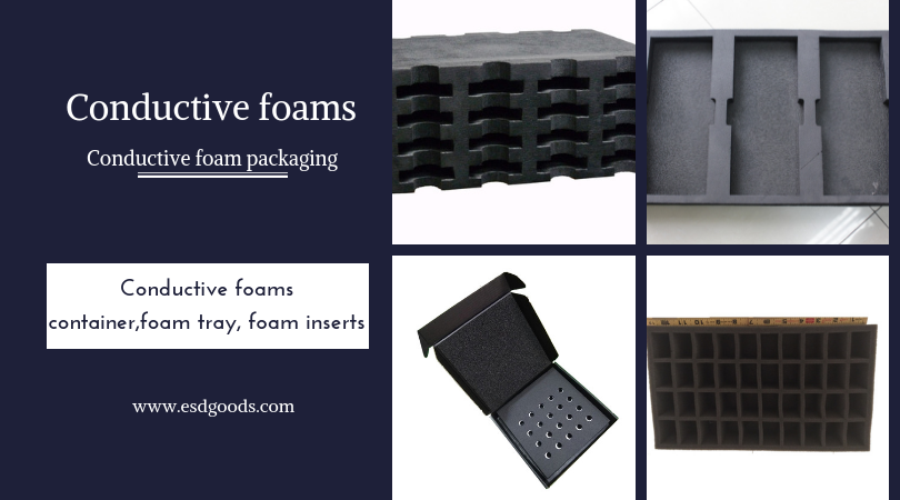 Conductive foam packaging