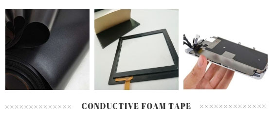Conductive foam tape gasket
