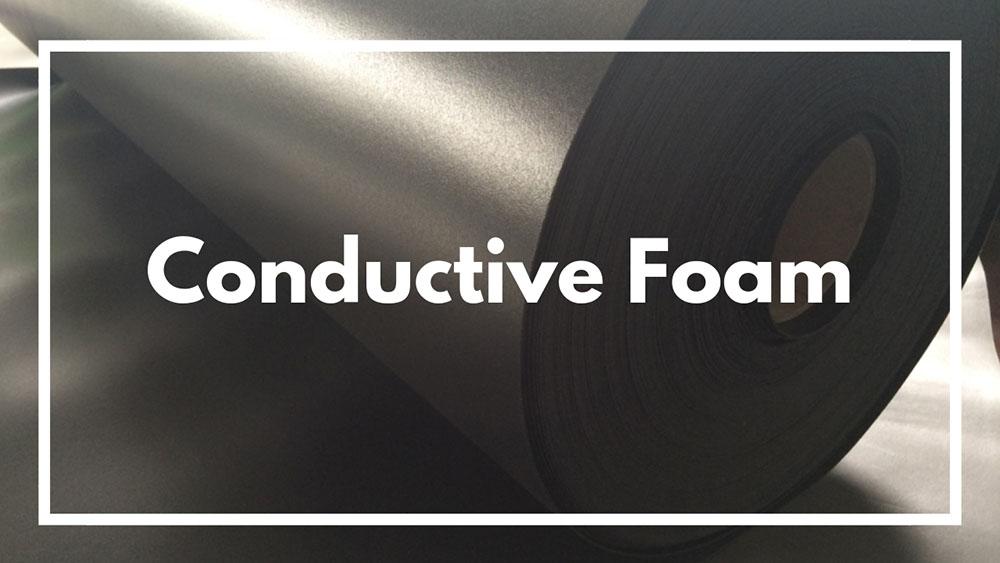 Conductive foam