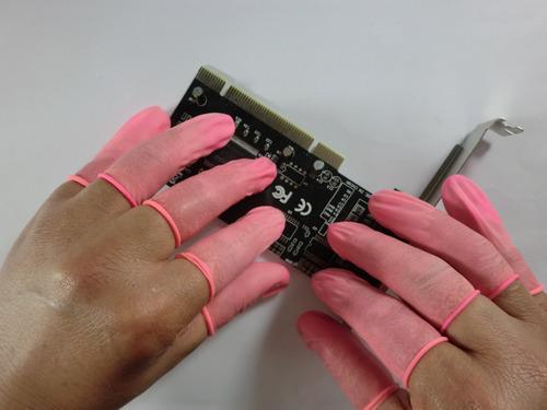 Anti static finger cot