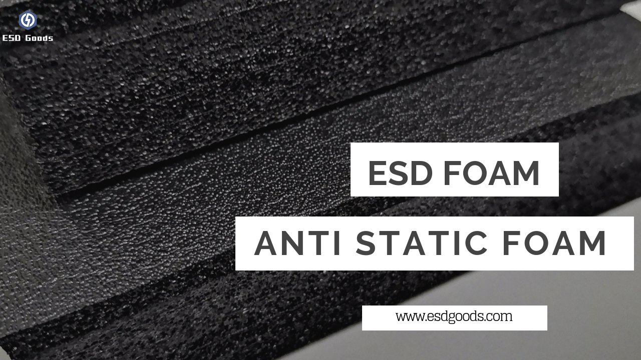 Anti static black foam