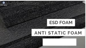 Black ESD PE FOAM