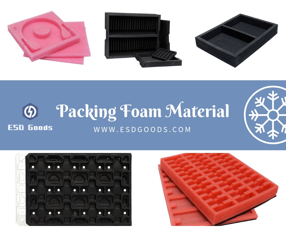Packing foam material