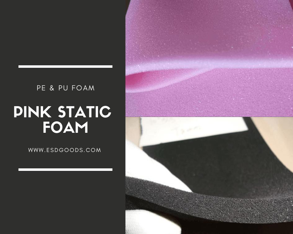 Pink Static Foam