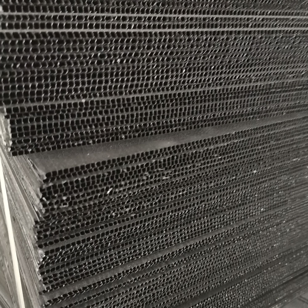 ESD corrugated sheet