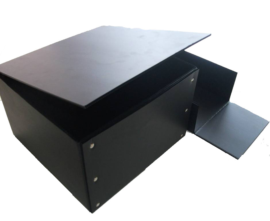 PP corrugated box with hollow sheet 1