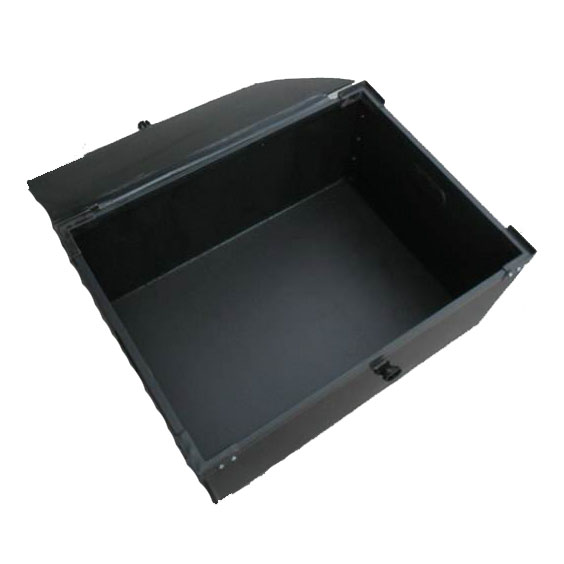 PP corrugated box with hollow sheet lid
