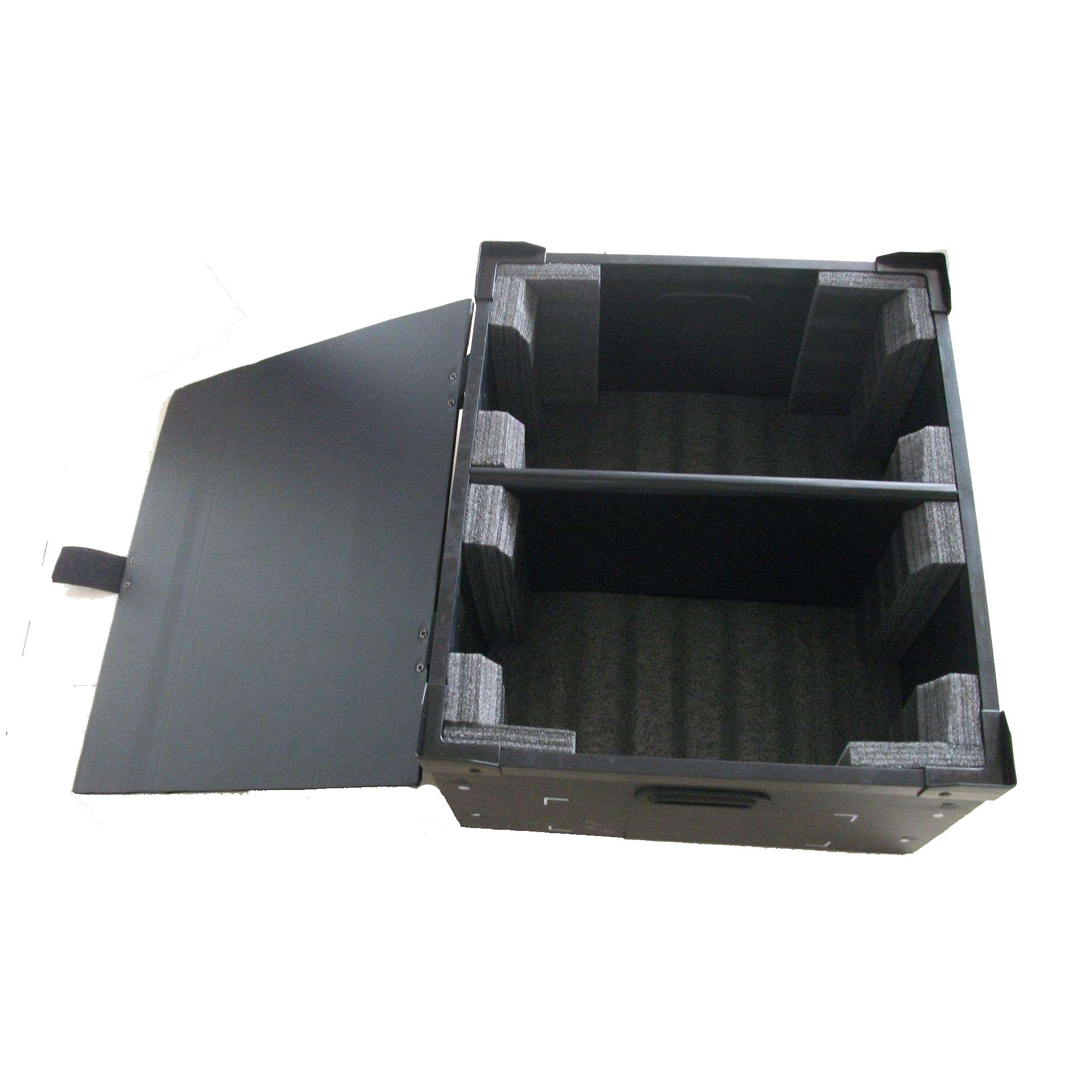 PP corrugated box with shockproof layer
